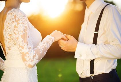 新婦へプロポーズ
