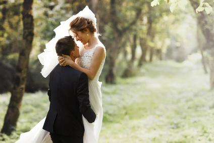 星空のサプライズ結婚式