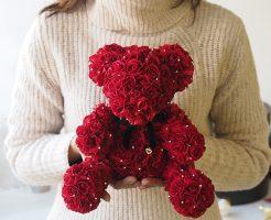 ローズベアー 結婚式で彼女に贈るプレゼント