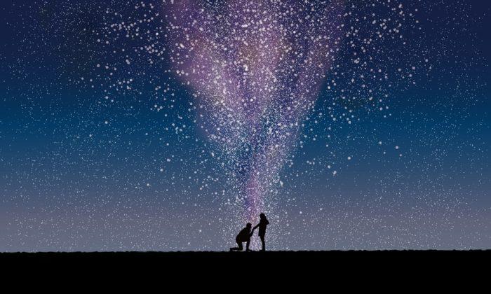 星を使ったサプライズ